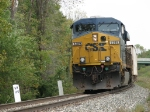 CSX 5389 passing milepost 135 on the Grand Rapids Sub