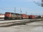 CN 2420 & 5541 doubling up their train