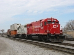 "CP 4422 & SOO 4452 with their ""Mini Z-Train"""