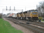 UP 4096, 4598 & 4498 with an eastbound intermodal