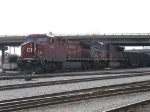 CP 9602 & CEFX 102 pulling out with coal loads