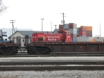 CP 1433 working back in the intermodal facility at Bensenville Yard