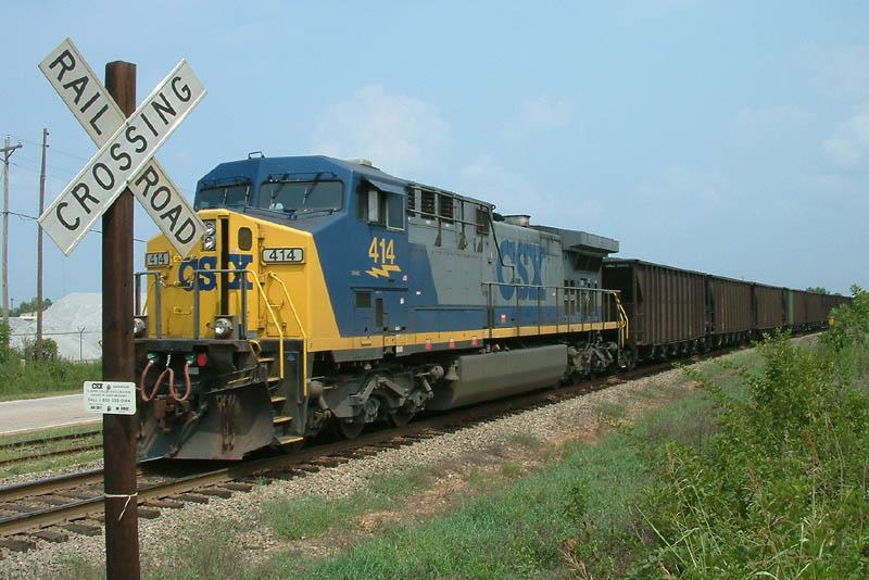 Pusher on SB Coal Train