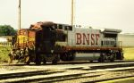 BNSF 519 AFTER WRECK IN NIOTA IL.
