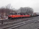 The Empty Mt. Tom Coal Train