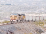 UP 6874 leads a WB coal train at 12:28pm