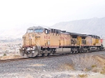 UP 6874 is lead in a WB coal train at 12:28pm