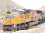 UP 3848 as lead in an EB intermodal at 12:27pm
