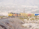 UP 8459 leads a WB intermodal at 2:04pm