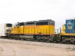 UP 3390 #3 power in EB intermodal at 12:46pm