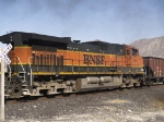 BNSF 999 #2 in WB work train