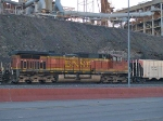 BNSF 4750 #3 power in EB coal train at 7:24 crew change