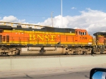 BNSF 5399 #3 power in EB manifest at 4:19pm