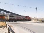 BNSF 910 leads an EB grain train at 1:56pm