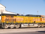 BNSF 5391 #2 power in EB manifest at 4:29pm