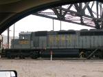 NREX 247 #2 power in WB grain train at 7:56am