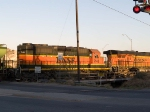 BNSF 7148 #2 power in an EB grain train at 7:41am