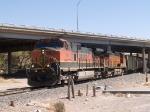 BNSF 962 leads an EB grain train at 1:11pm