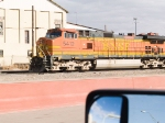 BNSF 5412 as lead in EB grain train (waiting for crew)