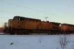 Profile of UP 6747 as it nears the Maple Ave. crossing