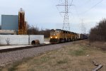 UP 4712 and three more EMDs power MPRSS toward Highway 164