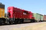 HLCX 1075 4th unit on MPRSS