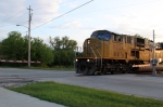 UP 8034 crossing Maple Ave.