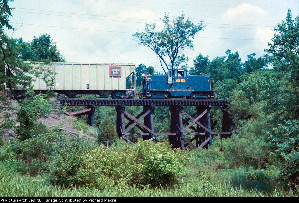PRR 9999 on Union Transportation Company
