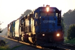 NS 3397 leads a high & wide train