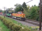 BNSF 4413 storms past Rochelle