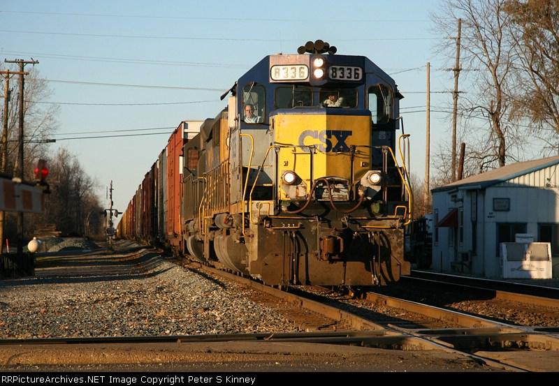 CSXT Train Q290(?)