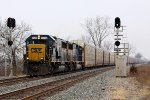 CSXT Train Q21618