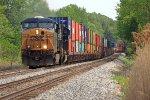 CSXT Train Q15012