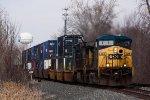 CSXT Train Q15107