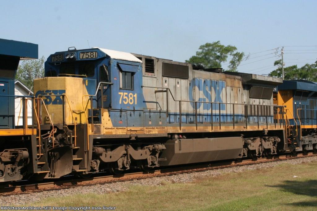 CSX 7581