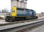 "CSX 8816 with ""missing"" coupler"