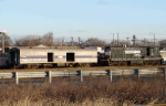 ex-AMTK baggage car & NS SD9m