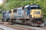 Y361-22 with CSXT 8535(SD50-2) ex SBD 8535(SD50) & CSXT 8568(SD50) ex C&O 8568(SD50)