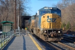 CSXT 8745 (SD60I), CSXT 4832 (SD70ACe) & CSXT 8070 (SD40-2) lead Q438-05 with 117 cars on tow