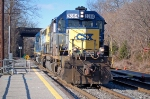 CSXT 8364 (SD40-2) & CSXT 8427 (SD40-2) on Q266, light power move
