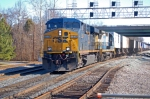 CSXT 5334 (ES44DC) & CSXT 7562 (C40-8) on Q173 with 328 axles