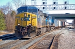 CSXT 5014 (AC60CW) & CSXT 7302 (C40-8W in Conrail paint) on Q171-10