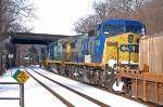 CSXT 7844 (C40-8W) in K651-16