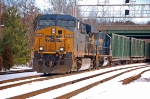 CSXT 5254 (ES44DC) & CSXT 8665 (SD50) ex CR 6751 (SD50) on K277-16
