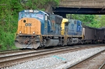U833-03 with CSXT 4748 (SD70MAC) & CSXT 316 (AC44CW)