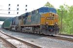 CSXT 5314 (ES44DC) & CSXT 8758 (SD60M) on Q703-09