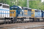 CSXT 8855 (SD40-2) ex CR 6497 (SD40-2)