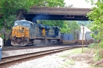 Q174 with CSXT 5204 (ES44DC) & CSXT 5497 (ES44DC)