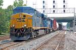 Q439 with CSX 5458 (ES44DC) & Conrail painted CSX 8865 (SD40-2) ex CR 6521 (SD40-2)