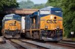 CSX 5455 (ES44DC) & CSX 5332 (ES44DC)